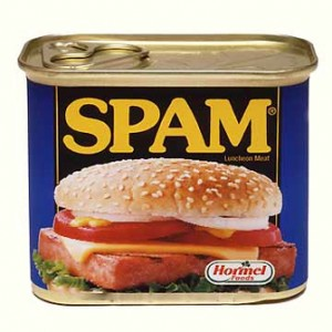 Picture of a tin of spam